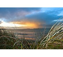 out from the sand dunes of Beal Photographic Print