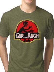 Grrassic Pargh Tri-blend T-Shirt