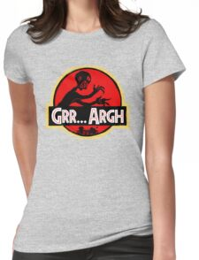 Grrassic Pargh Womens Fitted T-Shirt