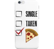 how about pizza? iPhone Case/Skin