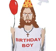 Jesus - Birthday Boy by Crian Bsinos