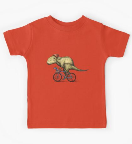 T-rex Bikers Kids Tee