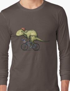 T-rex Bikers Long Sleeve T-Shirt