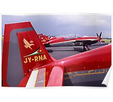 Royal Jordanian Falcons Poster