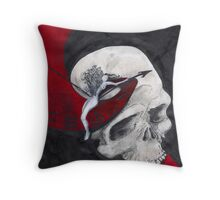 Growth (Flowering) Throw Pillow