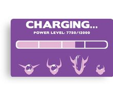 CHARGING FRIEZA Canvas Print