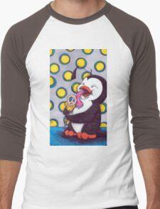 penguin pop Men's Baseball ¾ T-Shirt