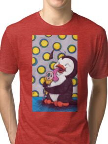 penguin pop Tri-blend T-Shirt