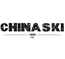 HENRY CHINASKI Photographic Print