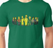 Breaking  Bad - Simpsons Unisex T-Shirt