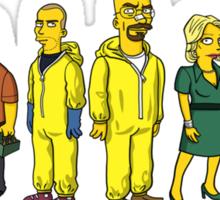 Breaking  Bad - Simpsons Sticker