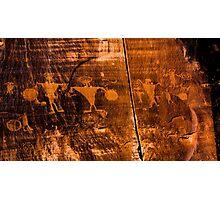 Petroglyphs Photographic Print