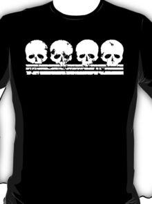Skull Row t shirt T-Shirt