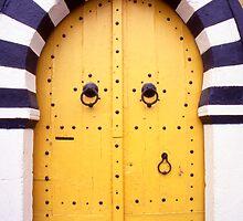 Arabic Door in Tunisia by Steve Outram