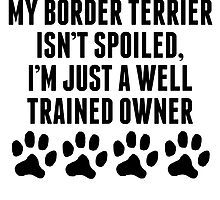 Well Trained Border Terrier Owner by kwg2200