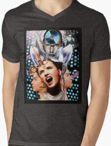 Scream Mens V-Neck T-Shirt