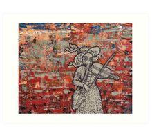 The Violin Player Art Print