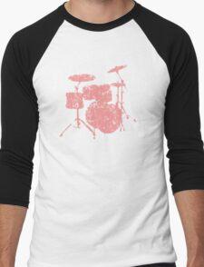 Drummers love to bang t shirt Men's Baseball ¾ T-Shirt