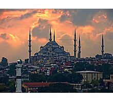 The Blue Mosque, Istanbul Photographic Print