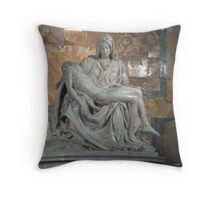 The Last Pieta Throw Pillow
