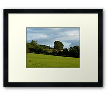 A View To Hathersage Church Framed Print