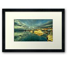 Rijekan reflections Framed Print