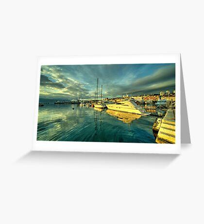 Rijekan reflections Greeting Card