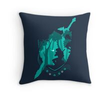 Song of Time Throw Pillow