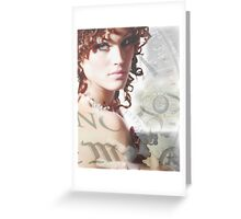 Timeless Beauty Greeting Card