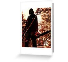 Pocono Chainsaw Massacre Greeting Card