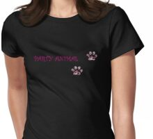 party animal Womens Fitted T-Shirt