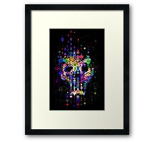 Monstrously colorful elementary particles Framed Print
