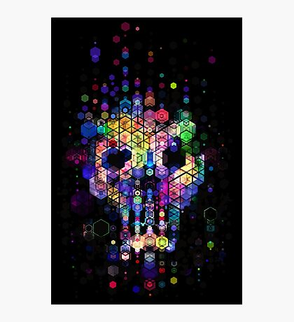 Monstrously colorful elementary particles Photographic Print