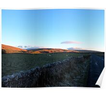 A View To Ribblehead Viaduct Poster