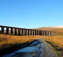 Ribblehead Viaduct and Whernside by chriscroxall