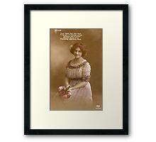 1915 Framed Print