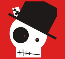 Skull And Top Hat by HeatherxRawrr