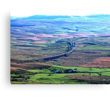 A View Over Ribblehead Canvas Print