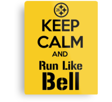 Keep Calm and Run Like Bell .2 Metal Print