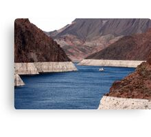 Lake Mead at Hoover Dam Canvas Print