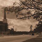 SEPIA TONED SKY by Ray1945