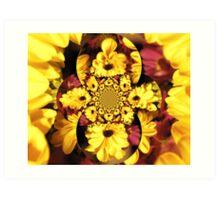 Flower Twist Art Print