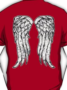Daryl Dixon Angel Wings - The Walking Dead (dirty) T-Shirt