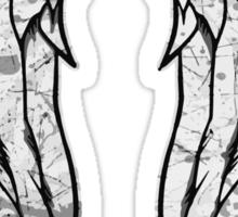 Daryl Dixon Angel Wings - The Walking Dead (dirty) Sticker