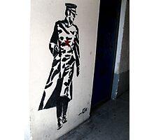 RUSSIAN SOLIDER GRAFFITI Photographic Print