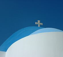 Blue roof by Patricia Martin