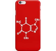 Caffeine Molecule iPhone Case/Skin