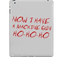 Die Hard - HO HO HO iPad Case/Skin