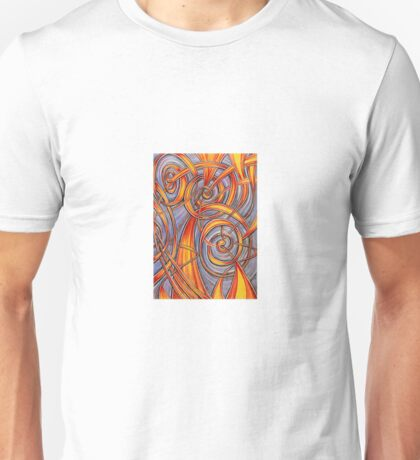 Spiralling Out Of Control Unisex T-Shirt