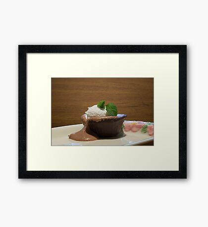 Chocolate Overload Framed Print